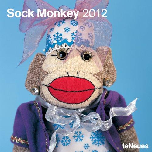 2012 Sock Monkey Grid Calendar
