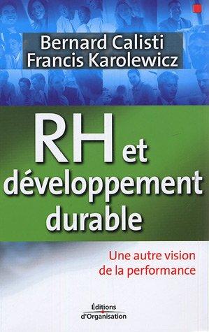 RH et développement durable: Une autre vision de la performance