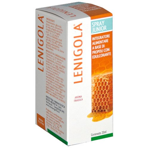 Lenigola spray junior 20ml fragola