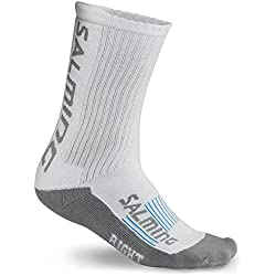 Salming - 365 Advanced Indoor Sock, color white, talla EU 35-38