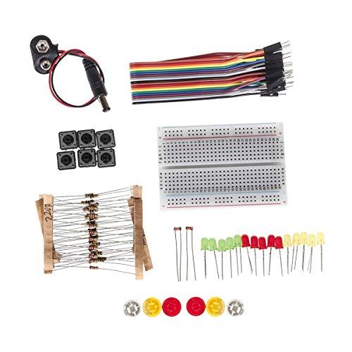 Arduino Starter Kit Set Universal Startersatz PCB LED Modul Klebeband (Starter Kit)