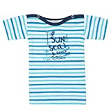 Absorba Mariniere Sun, Camiseta de Tirantes para Bebés, Azul (Caban 046), 3 Años (Tallas De Fabricante: 3A)