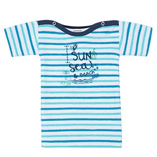 Absorba Baby-Jungen Unterhemd Mariniere Sun Bleu (Caban), 1 Jahr (Herstellergröße: 1A)