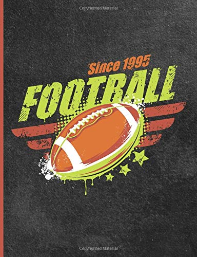Composition Notebook: College Ruled Lined Pages Book American Football Cover por Paper Pumpkin