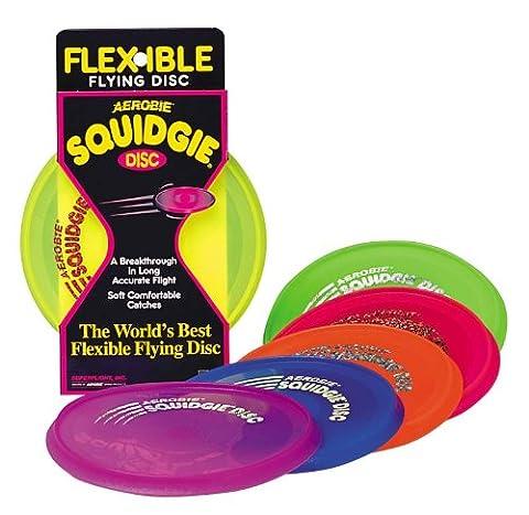 AEROBIE Squidgie Disc gelb -Die Frisbee für Kids-