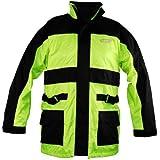 Vega Rain Jacket (Hi-Visibility Yellow, Large) by Vega Technical Gear