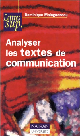 Analyser les textes de communication