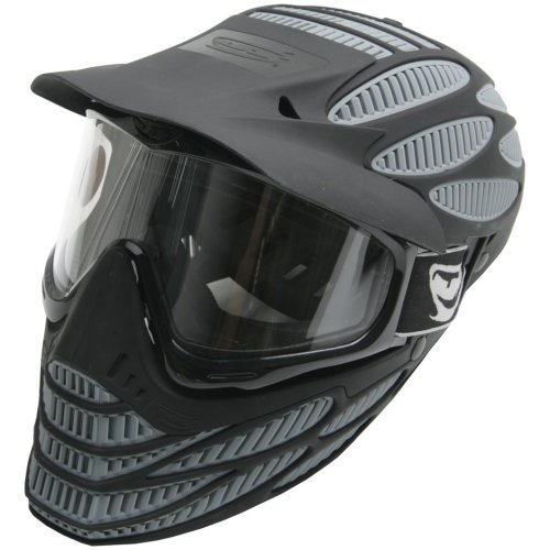 JT Paintball Maske Flex 8 Spectra Full Head, Grau, 1080 (Paintball Maske Full Head)