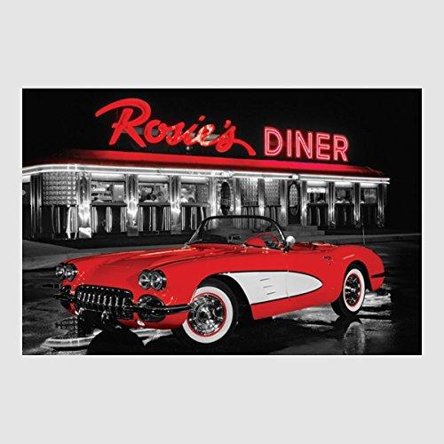 Wandbild Rosies Diner