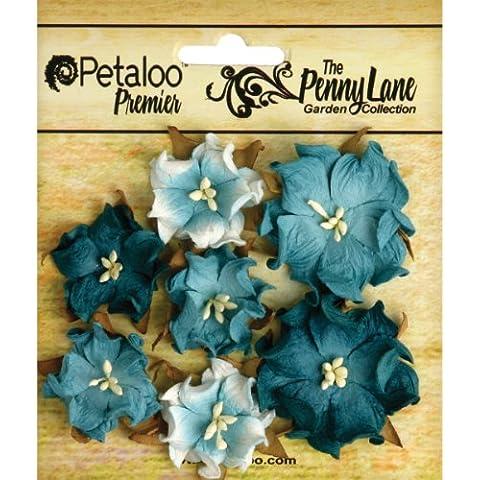 """Petaloo Penny Lane-Mini carta, motivo rose selvatiche 1 """""""" to 1,75 """", colore: foglia di tè"""