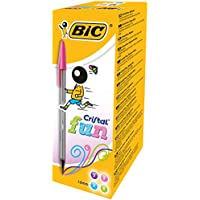 BIC 895079, Bolígrafo de Bola, Cuatro Colores (20 unidades)