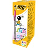 BIC Cristal Fun Ballpoint Pens Fashion Colours 20 Box
