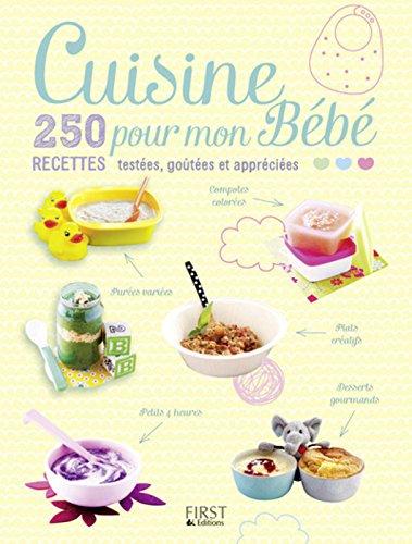 Cuisine pour mon Bébé - 250 recettes testées, goûtées et appréciées par Sylvain COLLECTIF