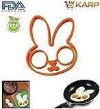 Egg Ring Mold - Rabbit Shape Silicone Om...
