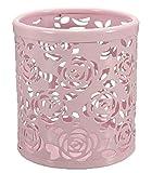 Demarkt Ciselé Pot à Crayons en Métal avec Style de Roses Rangements Pour Produits...