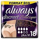 Always Discreet Boutique - Culottes pour fuites urinaires Taille M Format éco x36