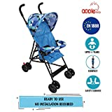 APPLE BABY Premium Carriage Stroller with Canopy, Umbrella, Mosquito Net, Wheel, Portable Light