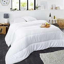 Sweetnight - Couette Mi-Saison 300g/m² | 220x240cm | Anti-acariens | Temperée | Douceur et Confort