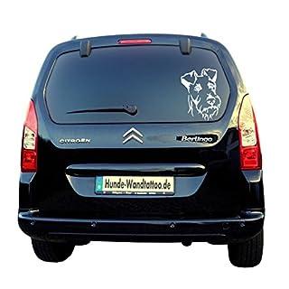 Irish Terrier Head Car Bumper Sticker/ATK0239Car Sticker Caravan Campervan Dog Head Amberdog