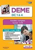 DEME - Épreuves de certification DC 1 à 4 - Annales corrigées - Diplôme d'État de Moniteur-éducateur - Session 2018