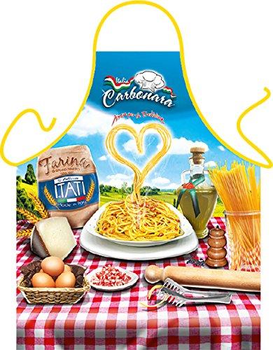 Kostüm Günstige Witzig - originelle und witzige Koch/Grill-Themenschürze mit Urkunde: Spaghetti Carbonara