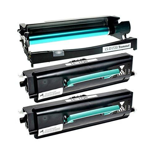 Preisvergleich Produktbild 2 Toner mit Trommel für Dell 1720 DN - 59310239 59310241 - Schwarz je 9000 Seiten, Trommel 30.000 Seiten