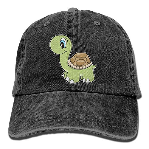 jingqi Mens Womens Baseball Cap Baby Schildkröte Sommer Jean Cabbie Cap für Männer (Schildkröte-baseball-cap)