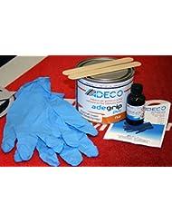 Adeco adegrip PVC Manguera Barco adhesivo de 2componentes 500g
