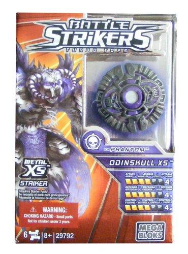 Mega Bloks 29792 - Battle Strikers Metal XS Team Phantom: Odinskull