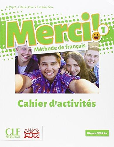 Portada del libro Merci Fle Niveau 1 Cahier d'Activité Version Consommable