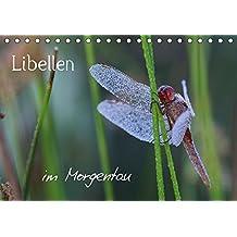 Libellen im Morgentau (Tischkalender 2017 DIN A5 quer): Nebelmorgen bei Libellen (Geburtstagskalender, 14 Seiten ) (CALVENDO Tiere)