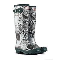 Hunter Original RHS Black Wellington Boots ? Black/White