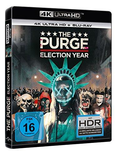 The Purge 3: Election Year – Ultra HD Blu-ray [4k + Blu-ray Disc] - 2