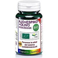 Robis Ajo Espino Olivo Bio Complemento Alimenticio Ecológico - 60 Cápsulas