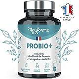 Probióticos Flora Intestinal - 30 Mil Millones UFC / 2 Geles - 10 Cepas - Complemento Alimentario 100% FRANCÉS - 60 Células Gastrorresistentes - Probio + Fabricado en Francia por ApyForme