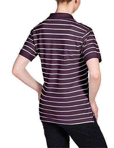 Jack Wolfskin Damen Shirt Riverton OC Polo W Grapevine Stripes