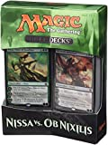 Magic The Gathering 14443 - Juego de Duelo de Cartas de Nissa vs. OB Nixilis
