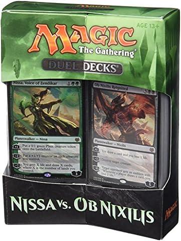 Magic the Gathering 14443NISSA VS OB nixilis Deck Duel