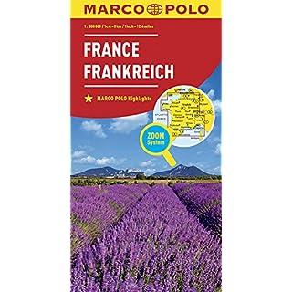 MARCO POLO Länderkarte Frankreich 1:800 000: Wegenkaart 1:800 000 (MARCO POLO Länderkarten)
