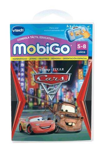 VTech - Cars 2, juego educativo en soporte físico para MobiGo (80-251922)
