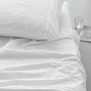 essenza bettw sche aylin white 155x220 cm k che haushalt. Black Bedroom Furniture Sets. Home Design Ideas