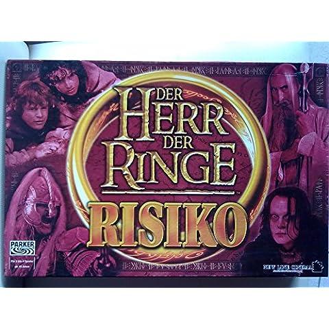 Parker 46233100 Risiko Herr der Ringe - Juego de mesa de El Señor de los Anillos [Importado de Alemania]
