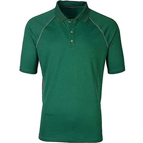 Moheen Men's Dry Max Moisture Wicking Big and Tall Polo Plus Size M to 4XL - WORK CASUAL SPORTS LEISURE