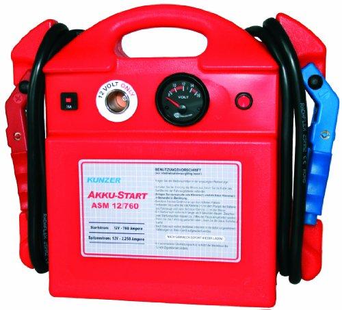 Preisvergleich Produktbild Kunzer ASM 12 / 800 AKKU-Start,  tragbar,  12V 2250 / 800A