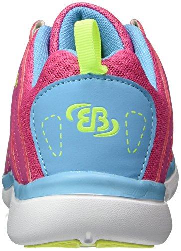 Bruetting Damen Crater Sneakers Pink (PINK/BLAU/LEMON)