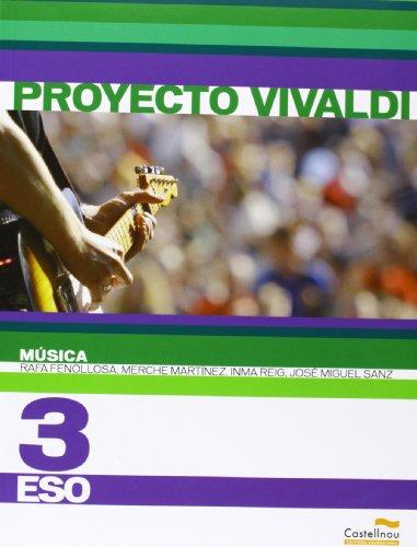 Música 3º ESO. Proyecto Vivaldi (Libros de texto) - 9788483452233