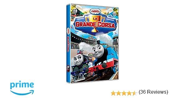 Il trenino thomas la grande corsa amazon cartoni animati
