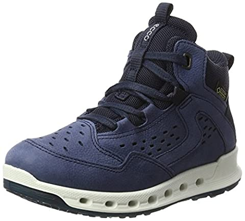 Ecco Jungen Cool Kids High-Top, Blau (50887DENIM Blue/Marine), 35 EU