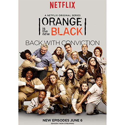 Orange Is the New Black Season 2 Poster On Silk - Affiche de Soie - 3315D9