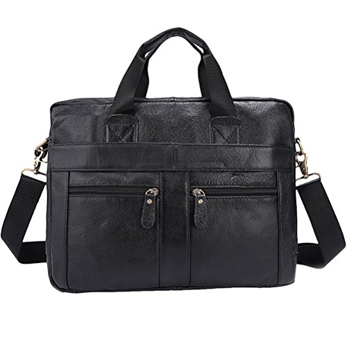 Zhhlaixing Mens Womens Damen Office Smooth Slim Zipper Cross Body Shoulder Bag Briefcase Christmas Halloween